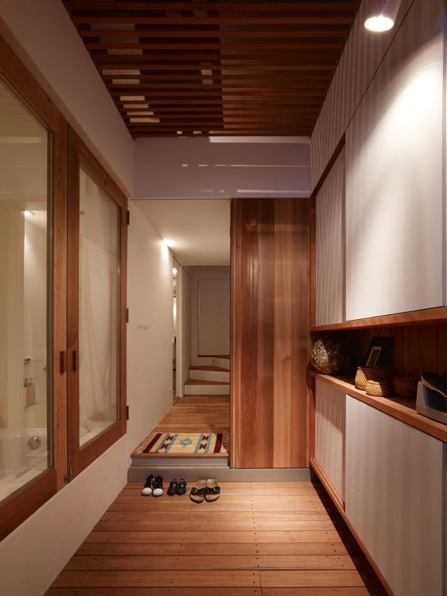 Các không gian trong nhà thiết kế xinh xắn, thông minh đảm bảo được công năng dù diện tích nhỏ.