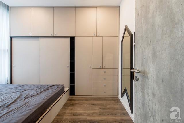 Tủ âm tường với cánh trượt và nhiều giải pháp thông minh, hữu dụng tạo nên sự đặc biệt và tiện dụng cho nội thất.