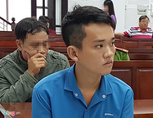 Phạm Công Nốp tại tòa. Ảnh: Việt Tường.