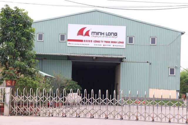 Xưởng sản xuất của Công ty Minh Long