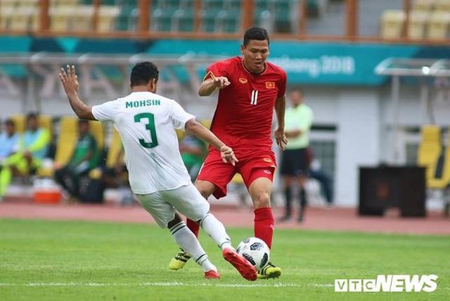 Anh Đức chưa có bàn thắng đầu tiên cho Olympic Việt Nam tại ASIAD.