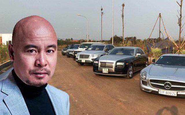 Ông Đặng Lê Nguyên Vũ cùng bộ sưu tập siêu xe