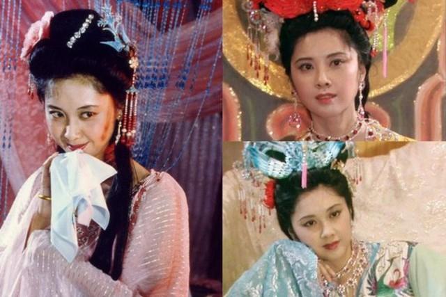 Nhan sắc tuyệt đẹp của Chu Lâm trong vai Nữ vương Tây Lương.