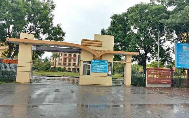 Trường THPT năng khiếu Hải Hưng - nay là trường THPT chuyên Nguyễn Trãi (tỉnh Hải Dương), nơi bà P. theo học cấp 3. Ảnh: Đ.Tùy