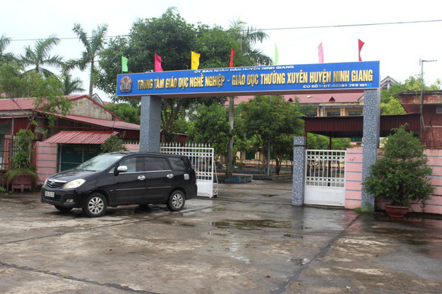 HIện tại, bà P. đang được giao phụ trách Trung tâm GDNN - GXTX huyện Ninh Giang. Ảnh: Đ.Tùy