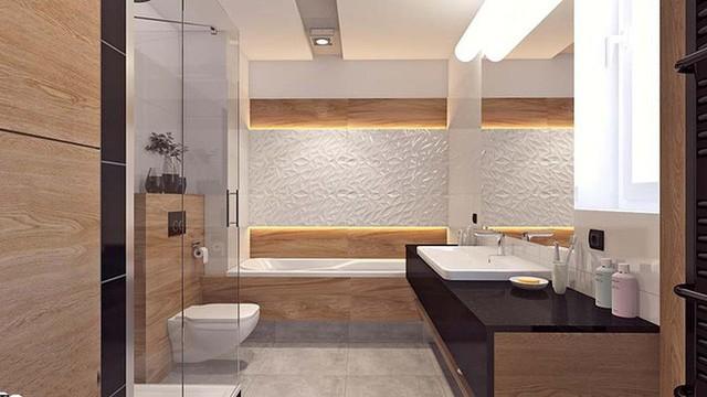 Ví dụ như bạn muốn sở hữu một căn phòng tắm ấm cúng thì nên lựa chọn đèn led có ánh sáng vàng.