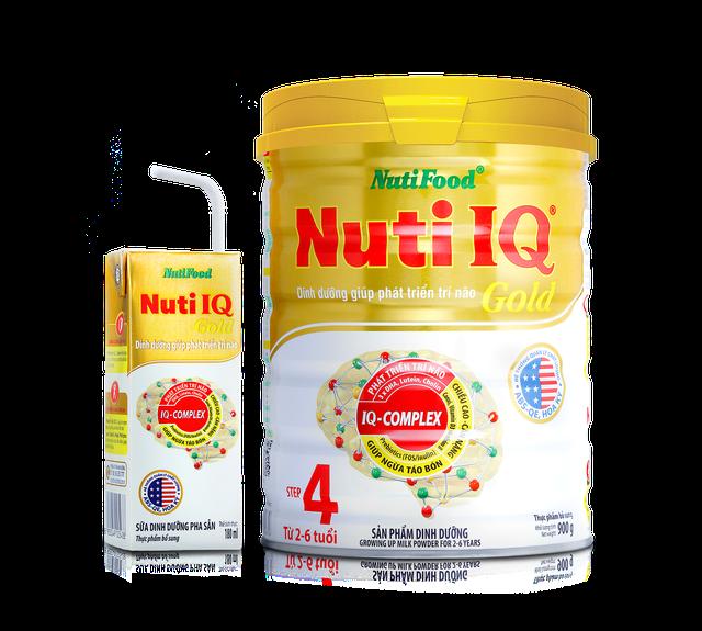 Sữa dinh dưỡng pha sẵn Nuti IQ Gold