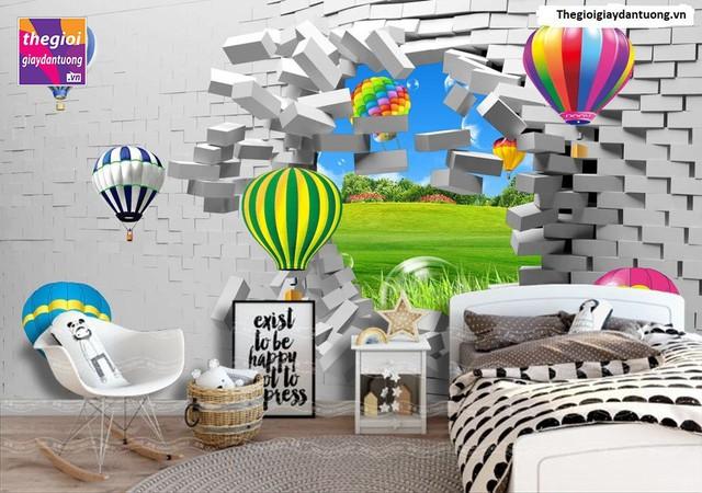 Tranh dán tường 3D có nhiều ưu điểm nổi bật