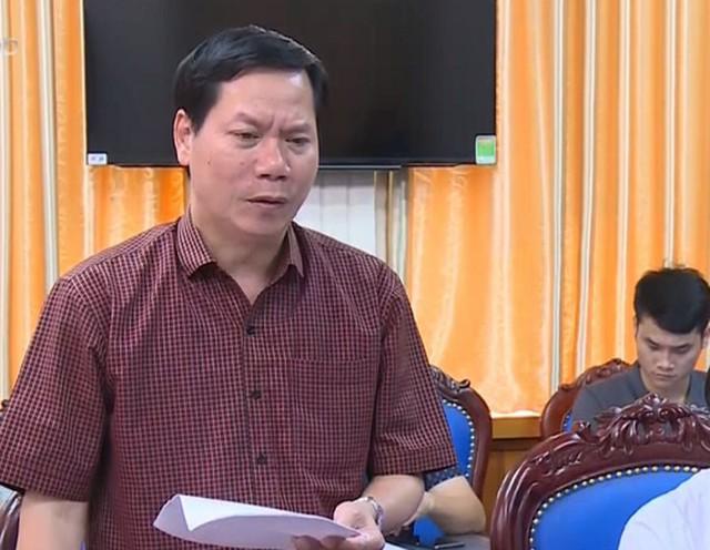 Ông Trương Quý Dương nguyên Giám đốc Bệnh viện Đa khoa Hòa Bình đã bị khởi tố. (ảnh: TG)