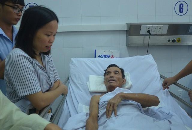 Sau vụ tai nạn, ông C hôn mê 6 ngày mới tỉnh lại