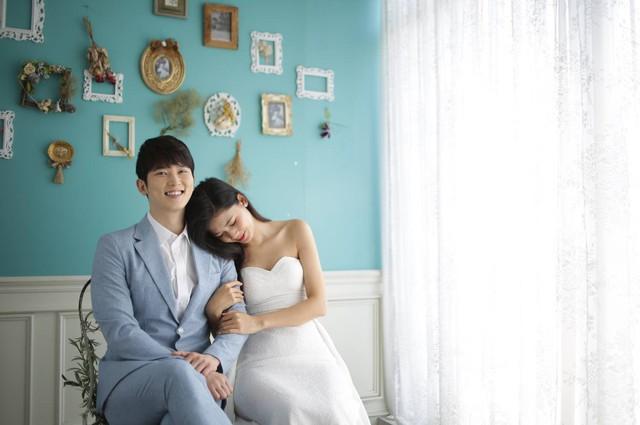 Thanh Tú diện váy cô dâu trong bộ ảnh mới