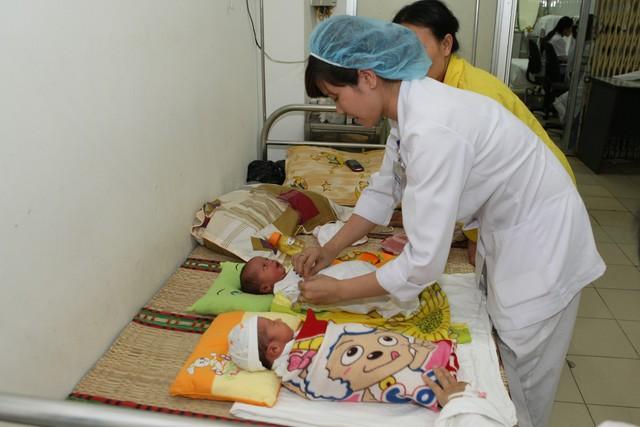 Sàng lọc trước sinh và sau sinh sẽ tầm soát được một số căn bệnh phổ biến.ảnh: Chí Cường