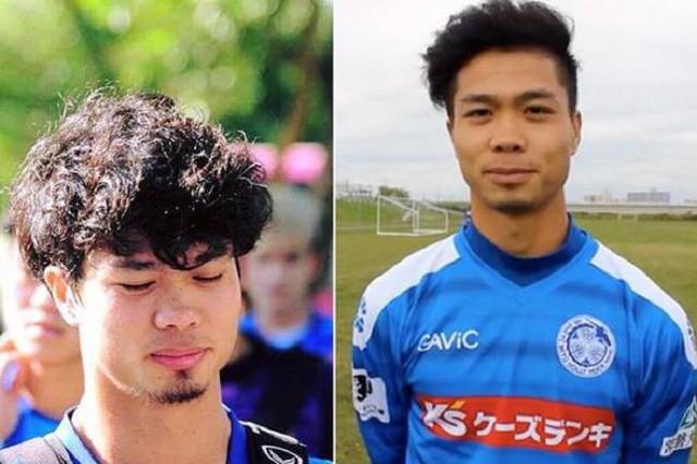 Tóc xoăn cũng được khá nhiều cầu thủ Olympic Việt Nam ưa chuộng. Công Phượng là một trong số đó.