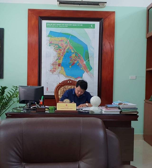 TP Hà Nội yêu cầu quận Tây Hồ kiểm điểm ông Hoàng Xuân Sáng - Chủ tịch UBND phường Yên Phụ.