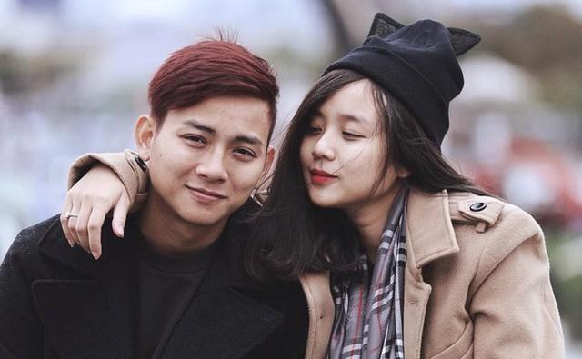 Hoài Lâm và bạn gái cũng từng dính tin đồn rạn nứt.