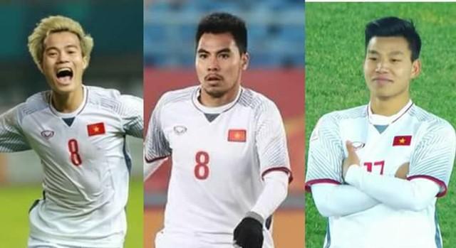 Ba tuyển thủ quê Hải Dương trong đội hình Olympic Việt Nam tham dự ASIAD 2018: Văn Toàn, Đức Huy và Văn Thanh