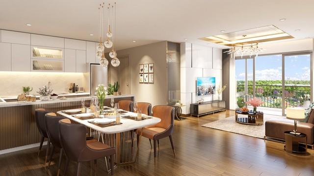 Các căn hộ tại Eco-Green Saigon có thiết kế thoáng rộng, trang bị nội thất cao cấp từ những thương hiệu hàng đầu thế giới.