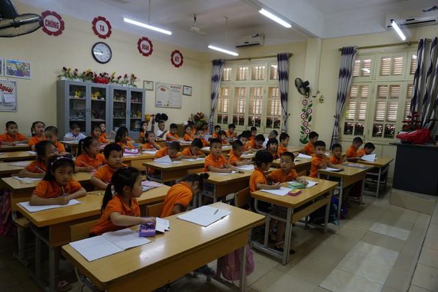 Một tiết học Tiếng Việt của học sinh lớp 1. Ảnh minh họa