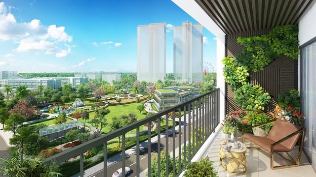 Tầm view đắt giá từ mỗi căn hộ tại Eco-Green Saigon.