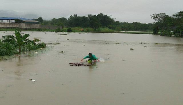 Mưa lớn trên diện rộng và kéo dài khiến mực nước các sông ở Bắc Bộ và Thanh Hóa lên nhanh