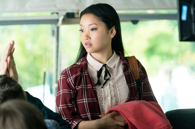 Lana Condor trong phim To All The Boys Ive Loved Before. Ảnh: Netflix.