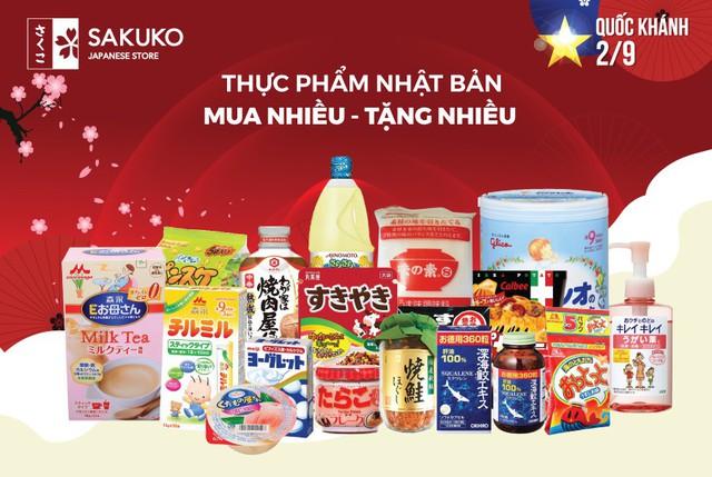 Thực phẩm Nhật Bản mua nhiều tặng nhiều – ưu đãi tới 50%