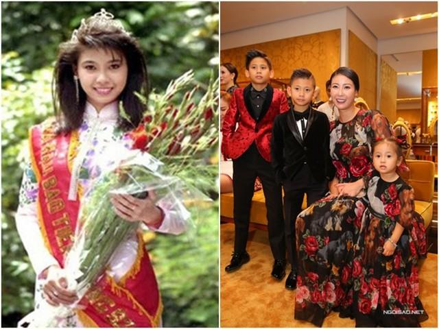 Hà Kiều Anh là người đẹp trẻ nhất từng lên ngôi Hoa hậu Việt Nam. Cô đăng quang năm 1992 khi mới 16 tuổi. Năm 1993, cô tiếp tục tham dự cuộc thi Hoa hậu Sinh viên Thế giới tổ chức tại Hàn Quốc và đoạt danh hiệu Miss Tejon. Sau biến cố hôn nhân đầu tiên, hiện cô sống hạnh phúc với gia đình nhỏ gồm hai trai một gái. Ở tuổi 42, cô vẫn giữ được sự trẻ trung, rạng ngời. Năm 2018, cô là một trong ba Hoa hậu ngồi ghế nóng cuộc thi Hoa hậu Việt Nam.