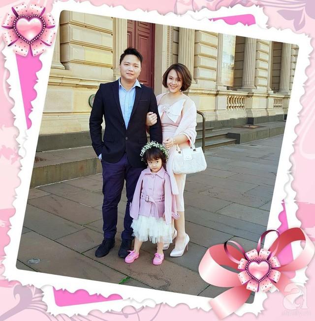 Gia đình chị Nguyễn Tú Trâm.