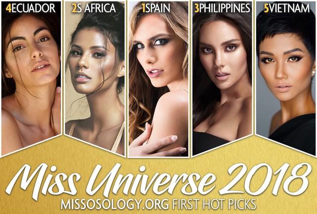 HHen Niê thuộc nhóm thí sinh gây chú ý nhất Miss Universe lúc này.
