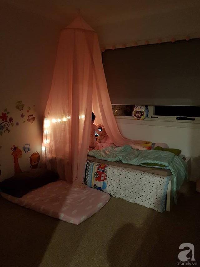 Căn phòng ngọt ngào của con gái.