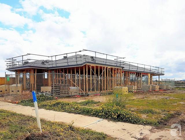 Ngôi nhà được xây dựng vào giữa năm 2017.