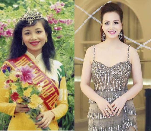Hoa hậu Diệu Hoa lúc đăng quang và hiện tại không có nhiều khác biệt.