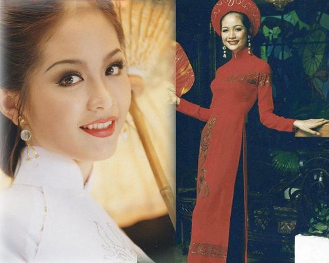 Nhan sắc mặn mà của Hoa hậu Nguyễn Thiên Nga thập niên 90.
