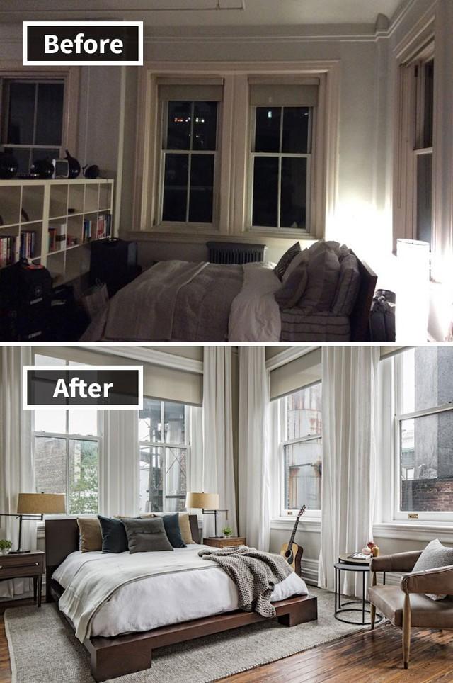 Phòng ngủ có đẹp hay không phụ thuộc rất nhiều vào ánh sáng và chiếc giường ngủ.