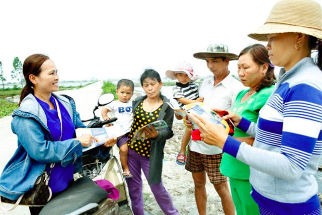 Tuyên truyền công tác DS-KHHGĐ cho bà con nhân dân (ảnh tư liệu)