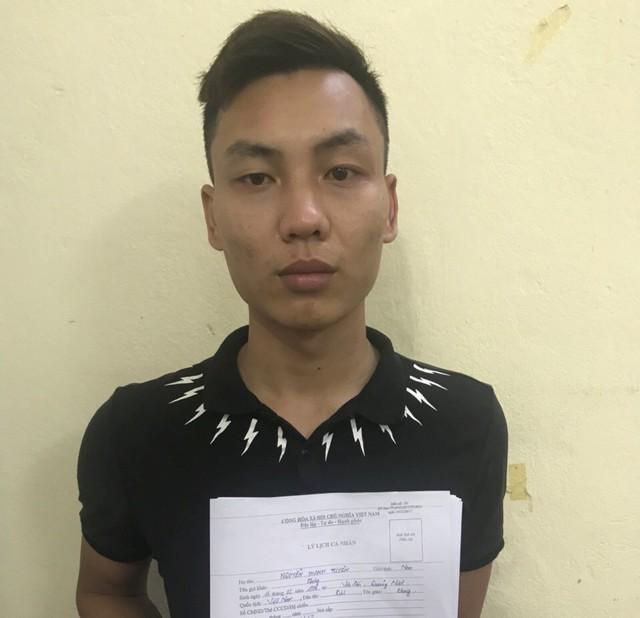 Đối tượng Nguyễn Thanh Tuyên (Hạo Thiên) lừa chị Y. sang Trung Quốc để làm gái mại dâm. Ảnh: Cơ quan Công an cung cấp