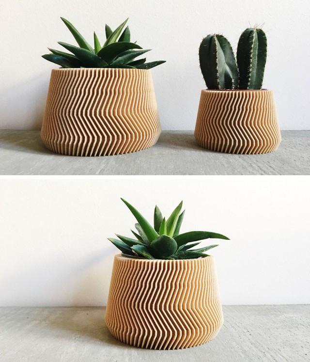Thiết kế của chậu trồng cây khiến bạn không khỏi xuýt xoa muốn sắm ngay về nhà.