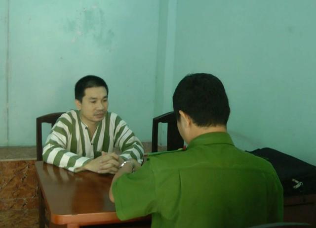 Trùm ma túy Văn Kính Dương khi bị bắt giữ