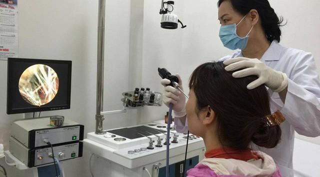 Nội soi vòm mũi họng để phát hiện ung thư sớm nhất