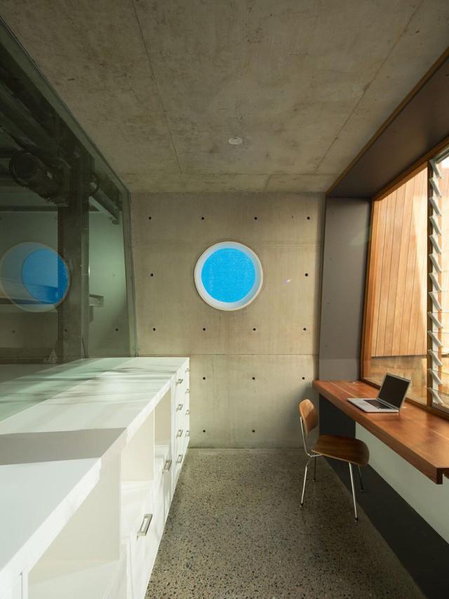 Các không gian trong nhà đơn giản nhưng đều tiện nghi.