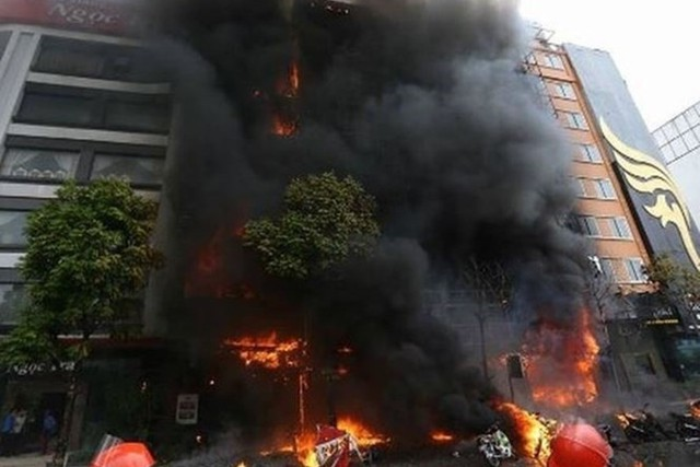 Hình ảnh kinh hoàng từ vụ cháy vẫn ám ảnh nhiều người. (ảnh: TL)