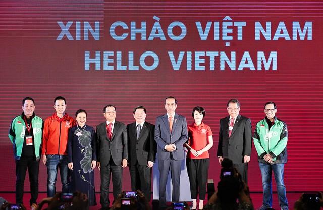 Go-Viet ra mắt tại Hà Nội nhận được sự quan tâm của Thủ tướng Indonesia, khi được sự hỗ trợ về tài chính của công ty dẫn đầu trong việc cung cấp nền tảng đa ứng dụng theo yêu cầu tại Indonesia (GO-JEK).