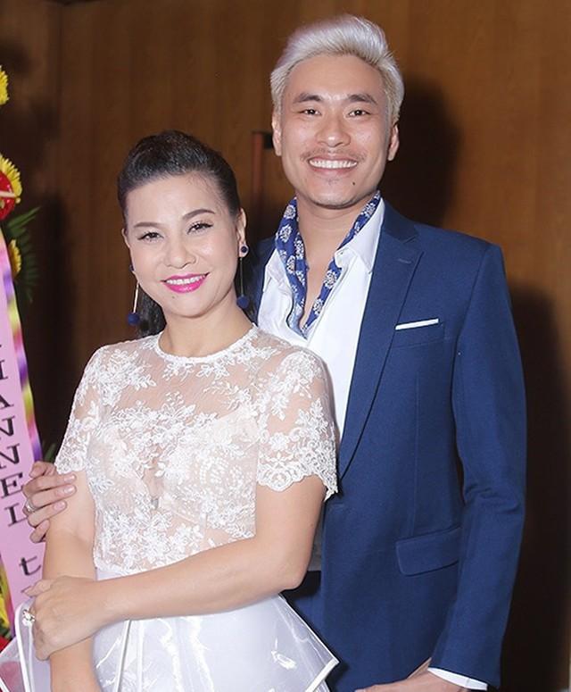 Cát Phượng từng có mối tình sâu sắc 10 năm với Kiều Minh Tuấn.