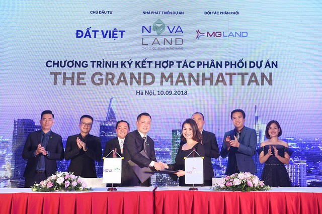 Công ty CP MGLAND Việt Nam (MGLAND) trở thành đối tác phân phối chính thức của dự án tại Miền Bắc.