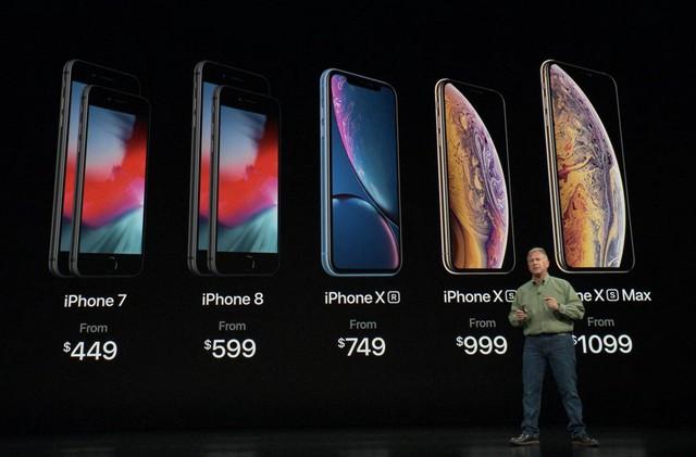 iPhone X không còn tồn tại trong bảng giá của Apple, mặc dù iPhone 7 (ra đời 2016) vẫn đang được bán
