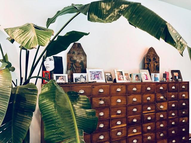 Mỗi món đồ cổ trong biệt thự của vợ chồng Bằng Lăng, theo cô, đều mang một ý nghĩa hoặc gắn liền kỷ niệm.