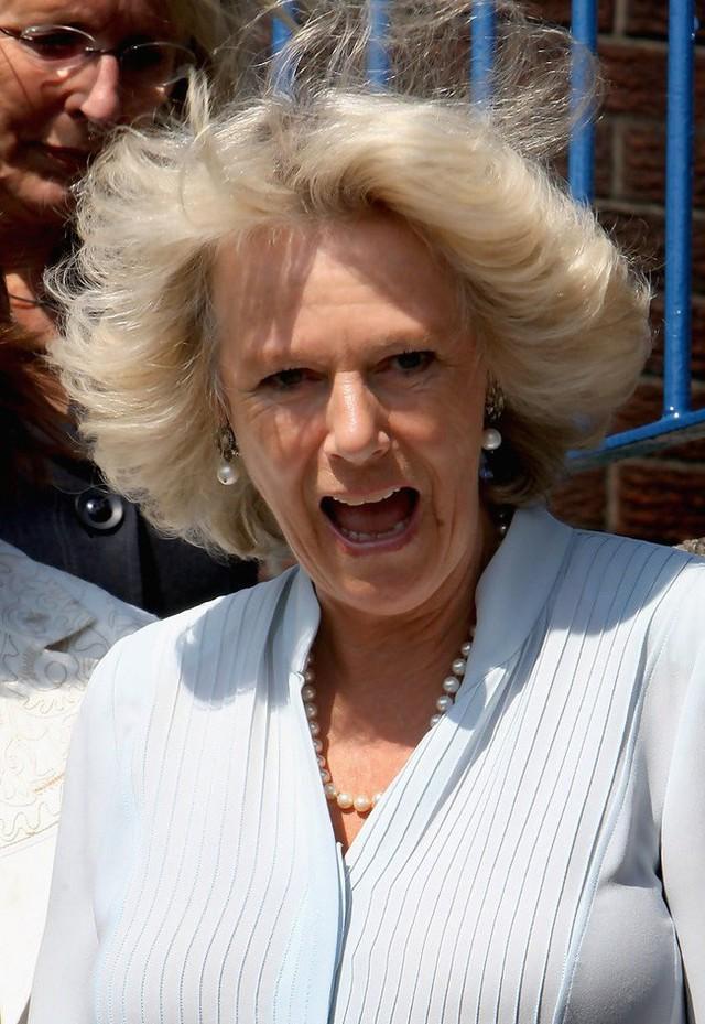 Bà Camilla rất sợ đi máy bay.