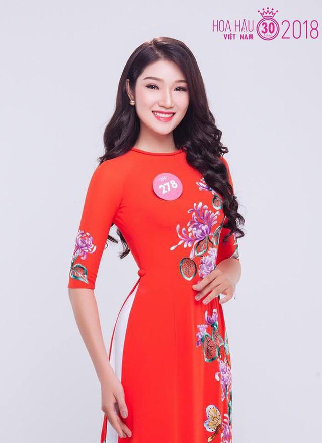 Thí sinh Lại Quỳnh Giang đến từ thủ đô Hà Nội