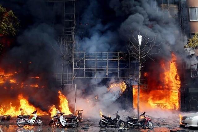 Hình ảnh kinh hoàng từ vụ cháy vẫn ám ảnh nhiều người. (ảnh: TG)