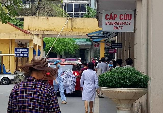 Khoa Cấp cứu (Bệnh viện E) đêm 16/9 tiếp nhận 8 người bị nạn sau khi tham gia Đại nhạc hội tại Công viên nước Hồ Tây
